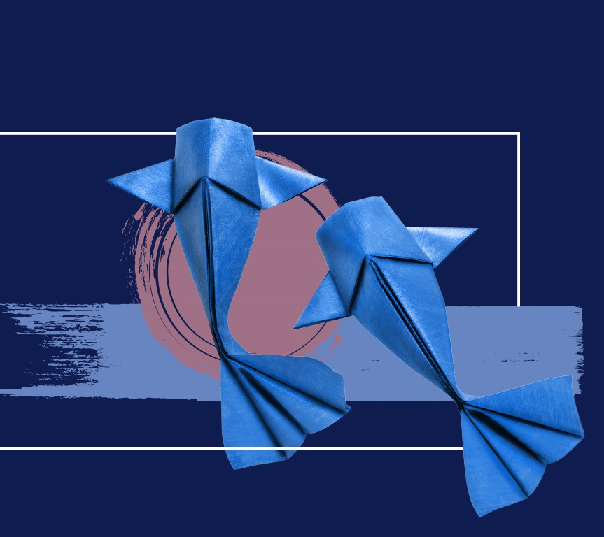 Guiding Greatness Origami Fish